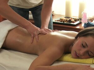 Laura gets fucked by the masseur