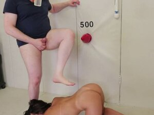 Wicked chick is taken in anus asylum for harsh