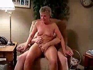 Older lady having fun !!