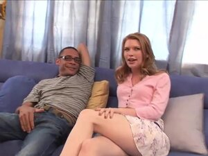 Madison Young bounces on a BBC
