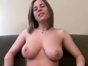 Short Haired Blonde Filled With Dick