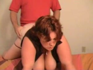 big beautiful woman redhead drilled on camera,