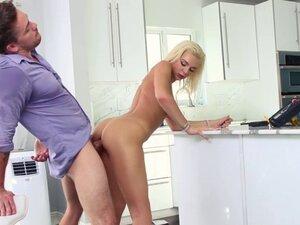 Tiffany Watson sucking Kyle discreetly