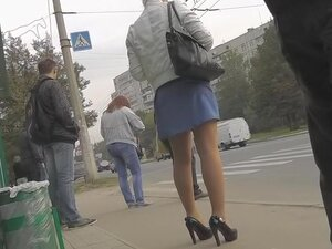 Unforgettable street upskirt, If u are into hawt