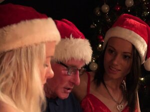 Santa Fucks Teen Helpers Spanks their ass fucks