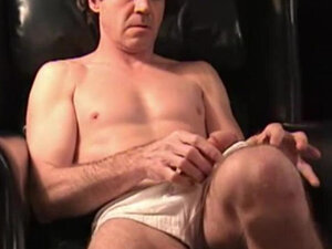 Mature Amateur Russ Jerking Off