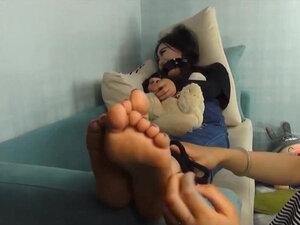 China girl tickle