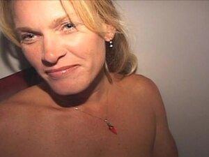 Blonde Wife Blowjob Whore Swallows Semen in Glory