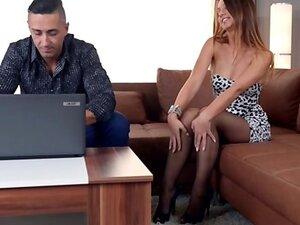 Hot ex girlfriend   ball sucking