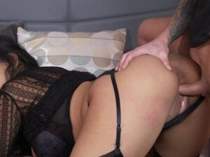 Hot butt Milf in lingerie fucking