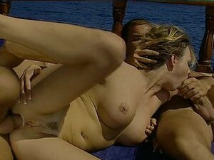 Boat sex with big tits babe Tara White