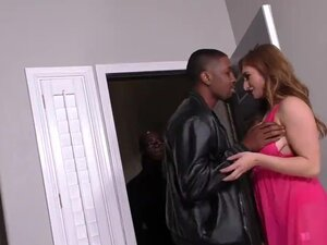 Skylar Snow's First Interracial Gangbang