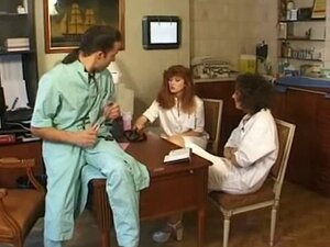 French doctor and nurse fuck
