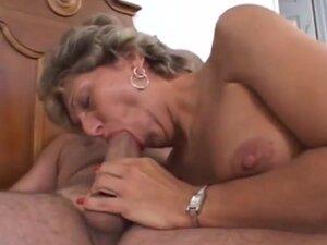 Granny bulging asshole lick fuck, Granny with