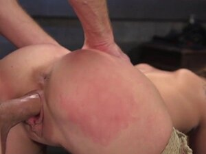 Slave traning with pussy banging for blonde slave