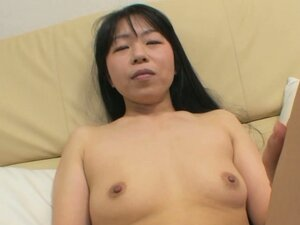 Yasuko Haraguchi thinks of pleasing her pussy with