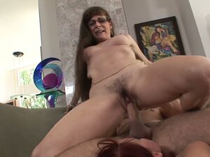Horny milfs Nicki Hunter & Alexandra Silk share a