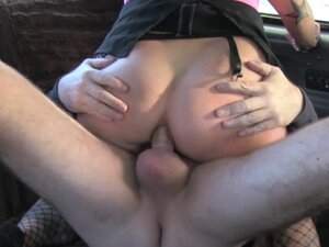 Tattooed lady enjoys riding a big cock pounding in