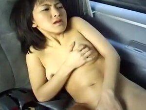 Japanese Girl Gets Her Freak On In Car, Beautiful