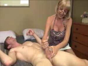 Granny Wants To See Young Big Cock Explode With