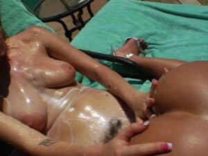 Weird sluts outdoor milk squirting