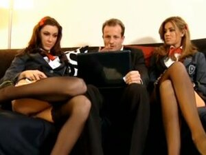 two naughty schoolgirls andtheir professor, ffm