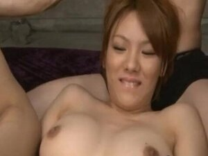 Hot Asian Babe gets Pussy and Anus part4