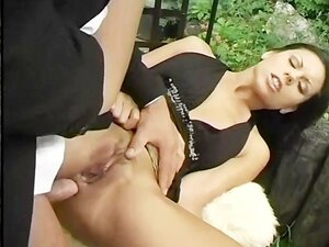 Anally Fucked In The Garden