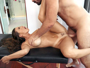 Big titted Abigail Mac gets pussy railed on the