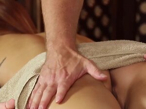TrickySpa EXCLUSIVE Masseur Cums in Mouth of
