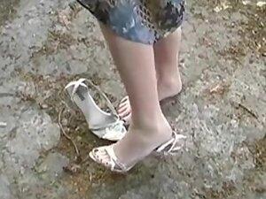 She Gets Her Feet Dirty Outside