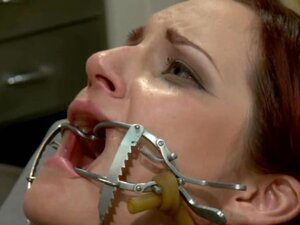 Two nasty redhead chicks make hot femdom show in a