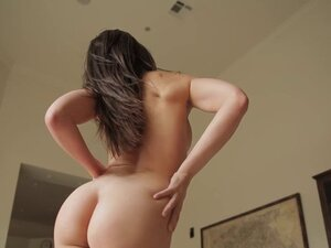 HD - Tiffany Tyler strips of her lingerie to get