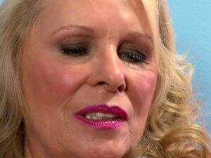 Sexy Blonde Granny Fucks Hard With Big Cock