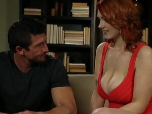 Huge boobs redhead hoe Siri pussy stuffed and