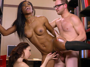 Aria Alexander and Mya Mays are in hot action in