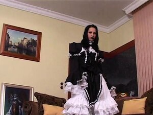 cosplay gothic domina queen by her first oops