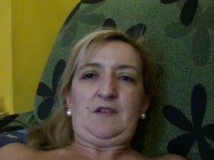Smoking Fetish - 006 Ugly mom smoking in the