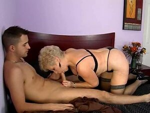 Blonde mature whore Mrs Jewell gives awesome