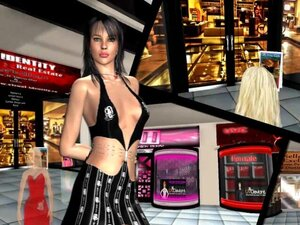 Fashion shows in Red Light Center, you're virtual