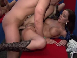 Horny pornstars Cindy Dollar, Rihanna Samuel and