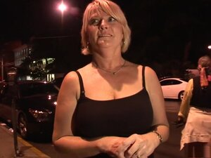 Horny pornstar in incredible striptease, mature