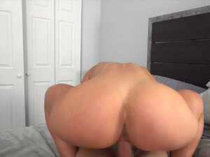 PAWG Brunette Takes It Deep POV