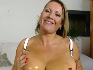 Laura in Holy Double H Tits!, Laura is here on