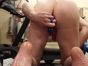 Prostate orgasm part 3 multiple cumshots