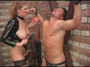 Latex porn video with soft cunnilingus and bdsm