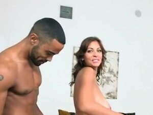 Busty Mom Sucks Big Black Cock For Breakfast