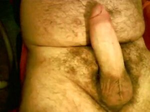 Jerk off and cum bear cub, wanking my big fat