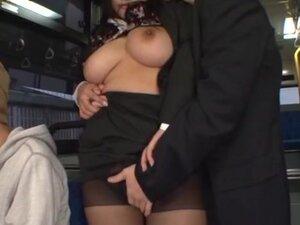 Hana Haruna is a hot Asian milf fucking in public,