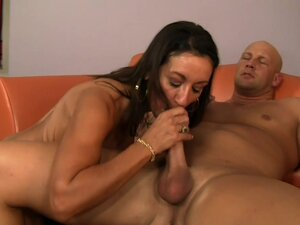 Pleasure And Lexi Share A Throbbing Cock, Lucky